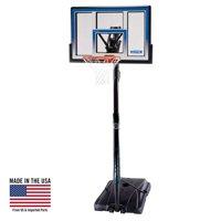 "Lifetime 48"" Shatterproof Portable One Hand Height Adjustable Basketball System, 51550"