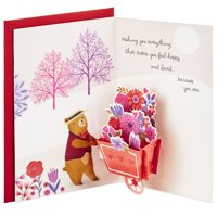 Hallmark Paper Wonder Pop Up Valentine's Day Card for Anyone (Beary Loved)