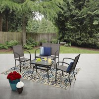 Woodland Hills 4-Piece Sling Conversation Set