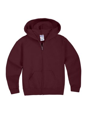 Mid-Weight Fleece Full-Zip Hooded Sweatshirt (Little Boys & Big Boys)