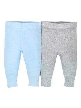 Newborn Baby Boy Organic Modern Cuff Active Pant, 2-pack
