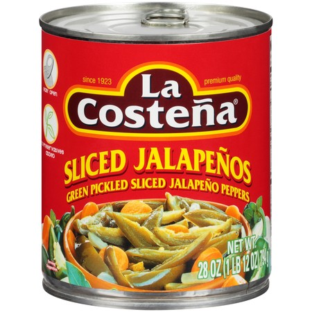 (6 Pack) La Costena Sliced Jalapeños, 28 Oz (La Costena Jalapeno)