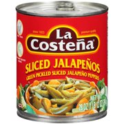 La Costena Sliced Jalapeños, 28 Oz