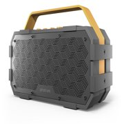 Photive M90 XLarge Portable Wireless Bluetooth Speaker with Built-In Subwoofer. Waterproof Shockproof 20-Watts EXTREME Audio Power. Water Resistant Outdoor Stereo Speaker Boombox