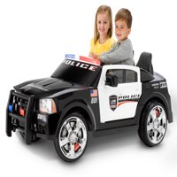 Kid Trax Dodge Pursuit Police Car 12-Volt Battery-Powered Ride-On