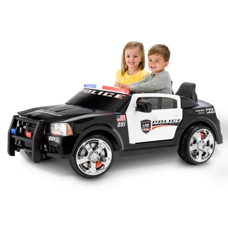 Kid Trax Dodge Pursuit Police Car 12 Volt Battery Powered Ride On