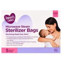 Parent's Choice Microwave Steam Sterilizer Bags, 5 ct