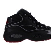 176e5256e685 Reebok Men s Question Mid A5 Black Silver Met Red Basketball Shoe 9 Men US