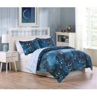 VCNY Home Through the Milky Way 2/3 Piece Boys Bedding Comforter Set
