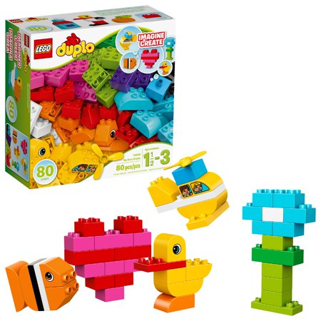- LEGO DUPLO My First Bricks 10848 Building Set (80 Pieces)