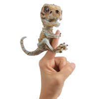 Fingerlings Untamed – Bonehead Skeleton T-Rex – Doom (Ash) – By WowWee