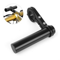 RUNACC Single Bike Handlebar Extender Bicycle Extender Mount Aluminum Alloy Bicycle Handlebar Extension Bracket, Suitable for Handlebar with Diameter around 1.3'', Black