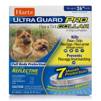 Hartz UltraGuard Pro Flea and Tick Prevention Collar for Dogs, 7 Month Collar