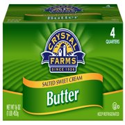 Crystal Farms Salted Sweet Cream Butter, 16 oz