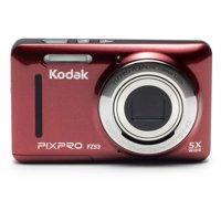KODAK PIXPRO FZ53 Compact Digital Camera - 16MP 5X Optical Zoom HD 720p Video (Blue)