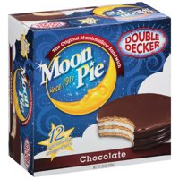 (2 Pack) Moon Pie Double Decker Chocolate, 12.0 CT