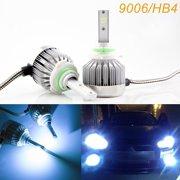 Xotic Tech 9006 HB4 LED Headlight Bulbs Ice Blue 8000K COB Conversion Kit For