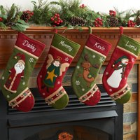 product image personalized country character christmas stocking available in different characters