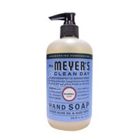 (3 Pack) Mrs. Meyer's Clean Day Liquid Hand Soap, Bluebell, 12.5 Fl Oz