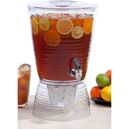 Halloween Beverage Dispenser (Creative Bath Bark 2.5-Gallon Beverage)