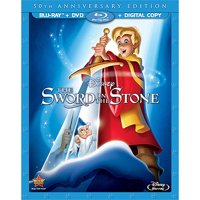 The Sword in the Stone (50th Anniversary Edition) (Blu-ray + DVD + Digital Copy)