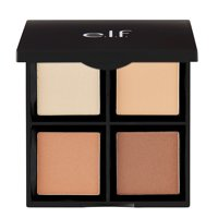 e.l.f. Contour Quad Palette, Light/Medium