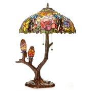 Tiffany Peacock Lamps
