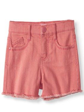 LIttle Girls' 4-6X Super Soft Color Denim Short