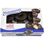 Entenmann's Mini Rich Frosted Donuts 12 count