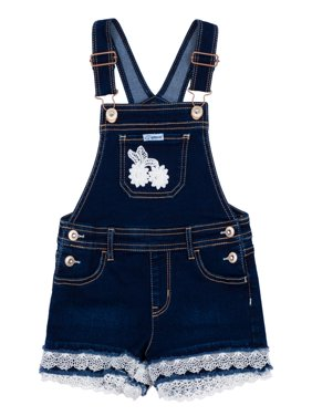 Denim Shortalls (Toddler Girls)
