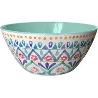 Better Homes and Gardens Multi-Medallion Melamine Cereal Bowl, 4 Pack