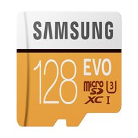 Samsung 128GB EVO Class 10 Micro SDXC Card with Adapter