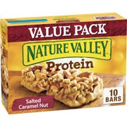 Nature Valley Chewy Granola Bar Protein Salted Caramel Nut 10 Bars