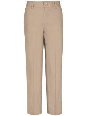 Boys Flat Front Pants School Uniform Approved