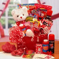 The Bear of Hearts Kids Valentine Gift Box