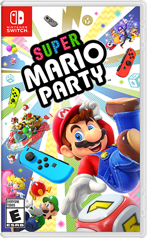 Super Mario Party, Nintendo, Nintendo Switch, 045496594305](Super Paper Mario Fire Tablet)