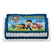 Quarter Sheet Edible Photo Birthday Cake Topper Personalized 1