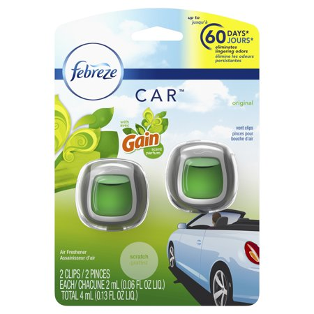Technical Concepts Air Freshener - Febreze Car Air Freshener, Gain Original, 2 count