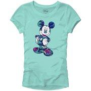 e927ba58 Disney Mickey Mouse Tropical Mint Green Disneyland World Tee Funny Humor  Women's Juniors Slim Fit Graphic