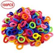 Jeobest Hair Ties Girls - Hair Bands Ties Girl - 100PCS Baby Girls Hair Ties  Little 58793a73cd2