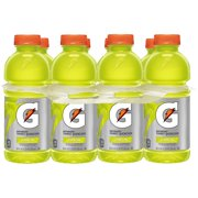 Gatorade Thirst Quencher Sports Drink, Lemon-Lime, 20 Fl Oz, 8 Count