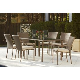 Mainstays Albany Lane 6 Piece Folding Dining Set Multiple