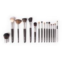 Vanity Planet Palette - Essential 15 pc Makeup Brush Set - Black