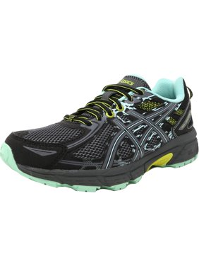 ed6e63ed41 Product Image Asics Women s Gel-Venture 6 Black   Carbon Neon Lime  Ankle-High Running Shoe
