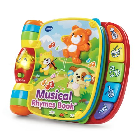VTech Musical Rhymes Book Classic Nursery Rhymes for