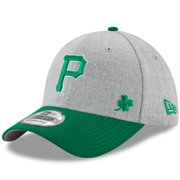 2bcf935c7c096 Pittsburgh Pirates New Era Change Up Redux St. Patrick s Day 39THIRTY Flex  Hat - Heathered