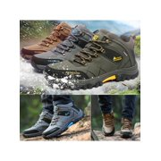 Winter Mens Big Size Trail Hiking Boots Waterproof Athletic Non Slip Outdoors Shoes