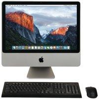 """Apple MB323LL/A/C2D/2.4/4GB/250GB/10.11 20"""" Refurbished iMac Desktop Computer"""