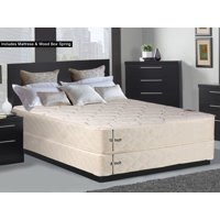 Continental Sleep Orthopedic Long Lasting 10 in. Innerspring Mattress and Box Spring