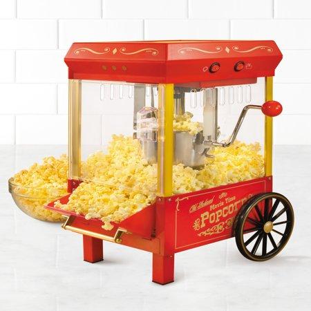 Nostalgia KPM508 Vintage Collection Electric Kettle Popcorn